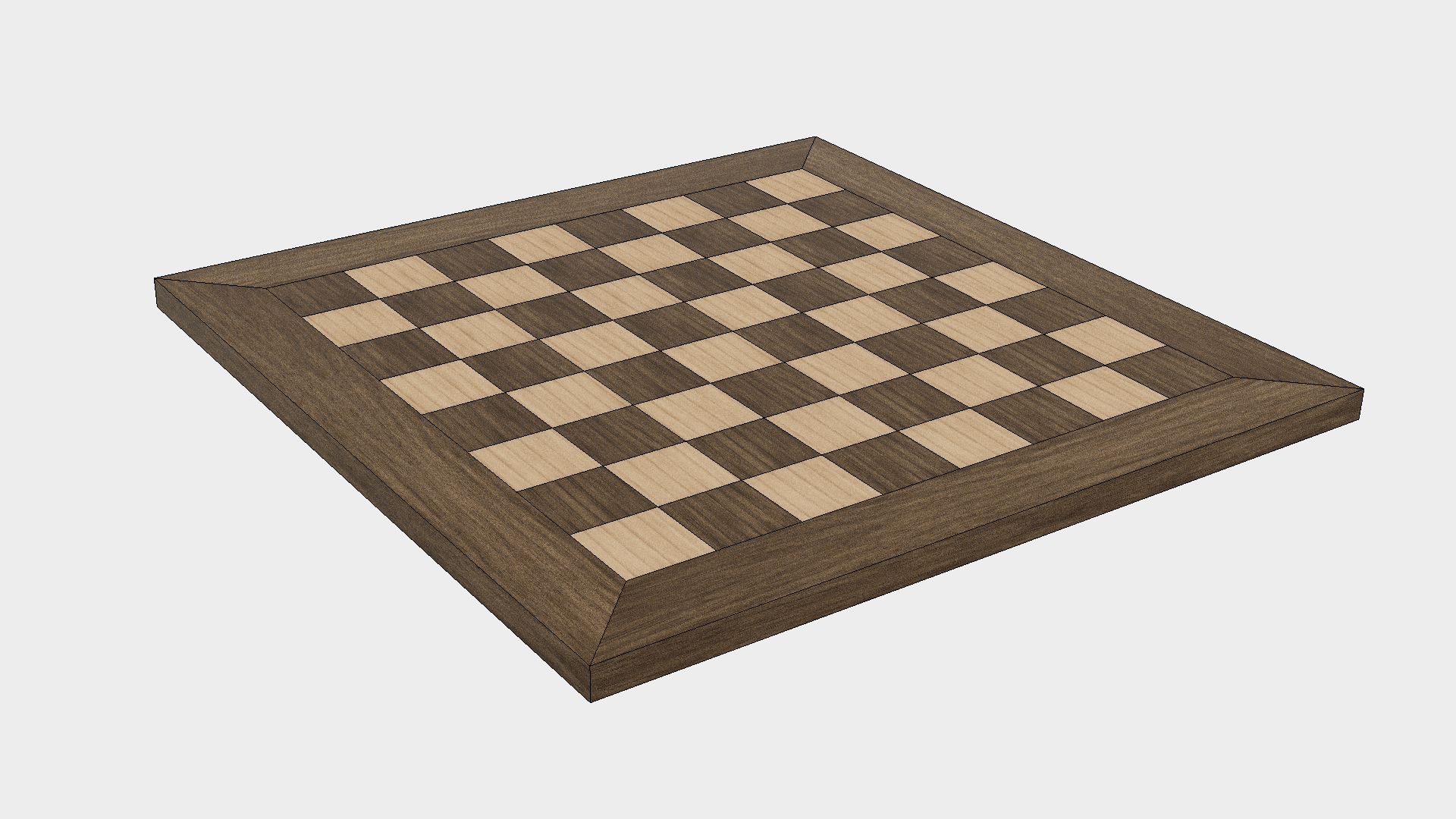 How to Make a Chess Board - Step 8b