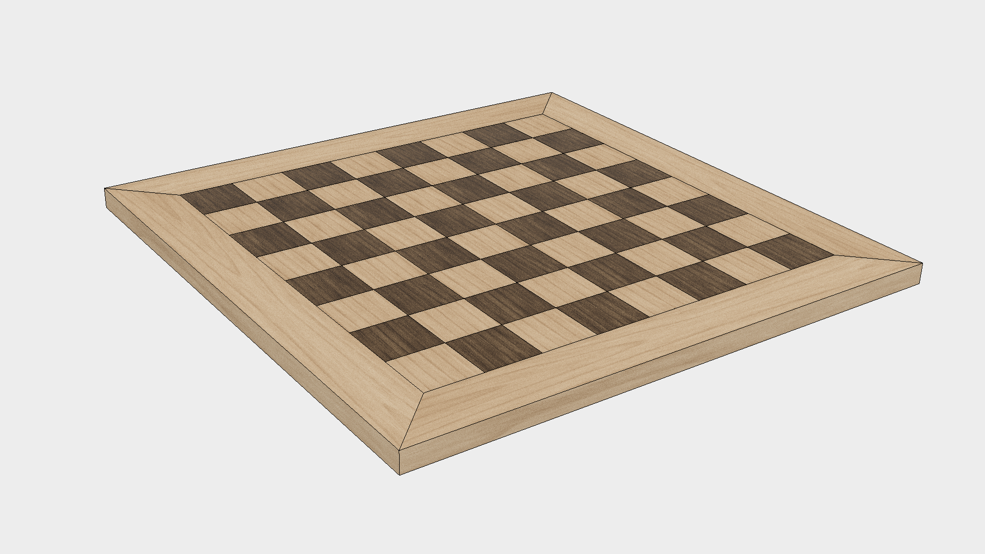 How to Make a Chess Board - Step 8