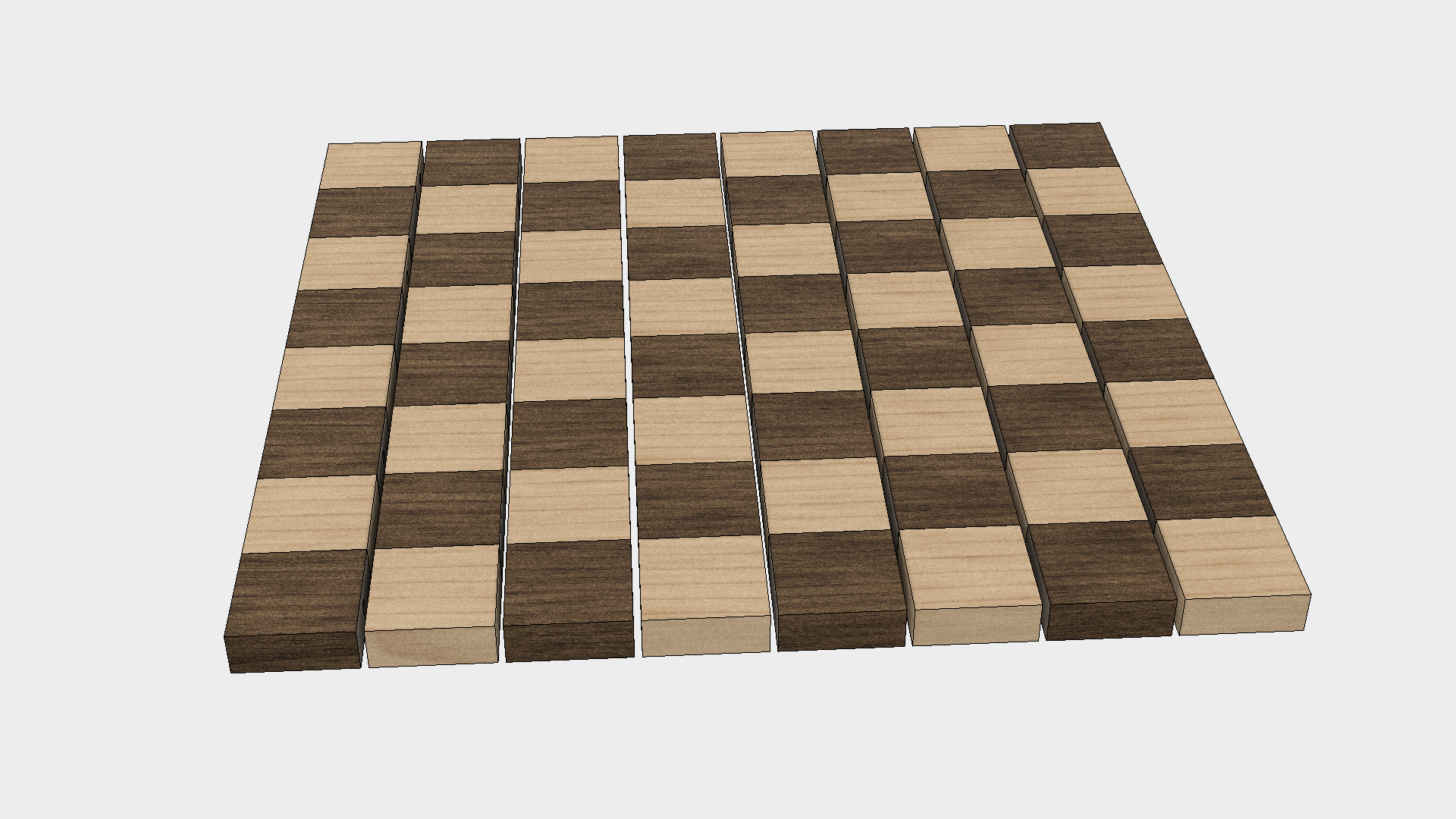 How to Make a Chess Board - Step 4