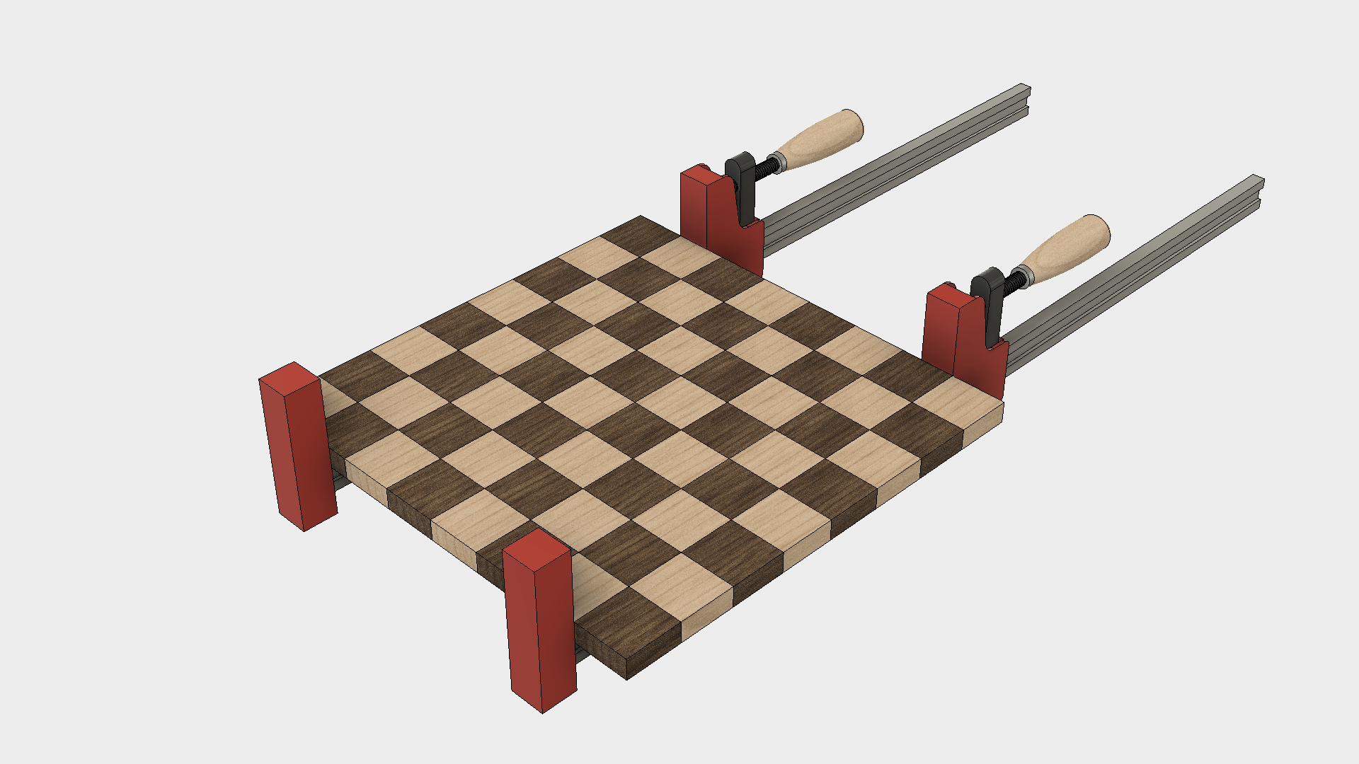 How to Make a Chess Board - Step 6