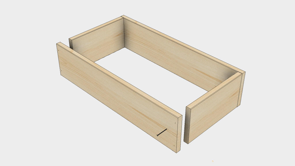 Raised Bed Step 2 - Assemble Boxes