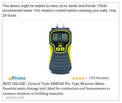 amazon moisture meter post