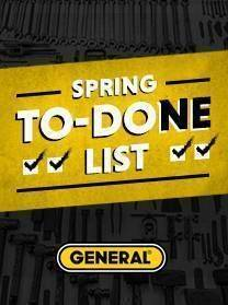 Spring to Done with General Tools
