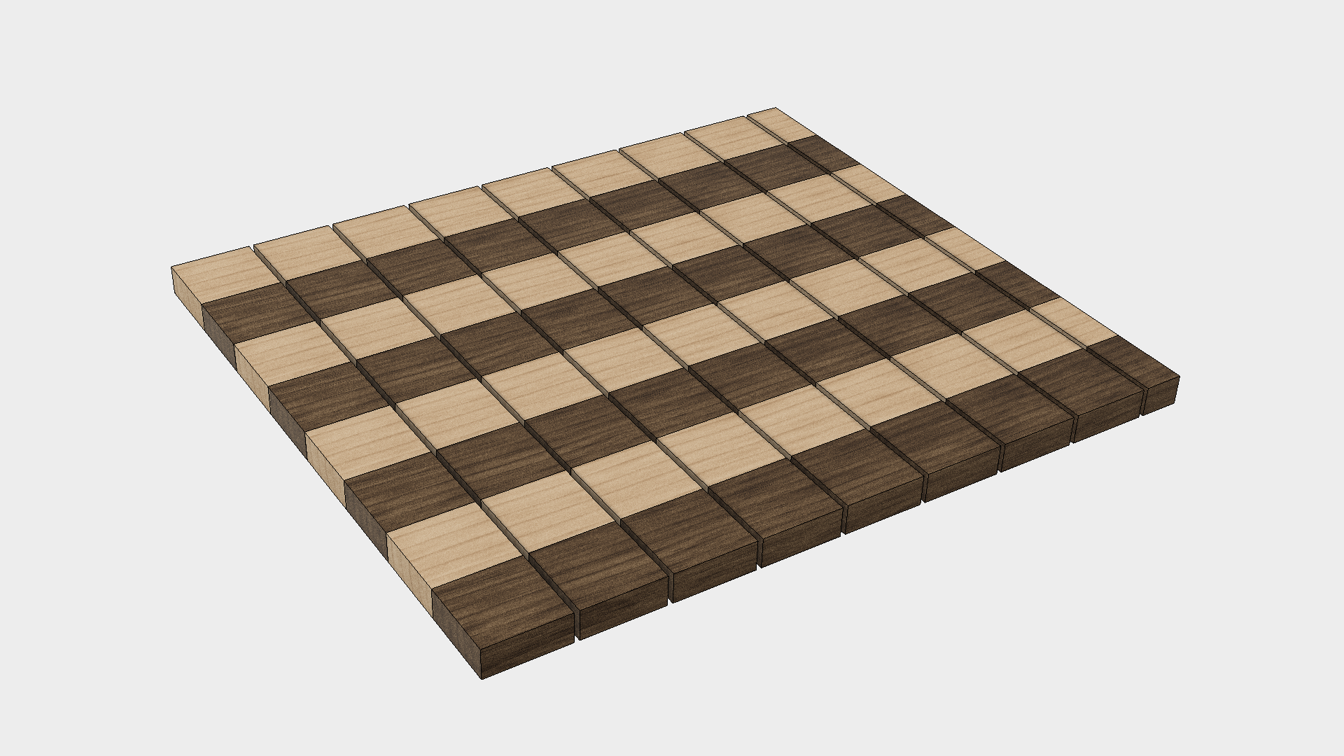 How to Make a Chess Board - Step 3
