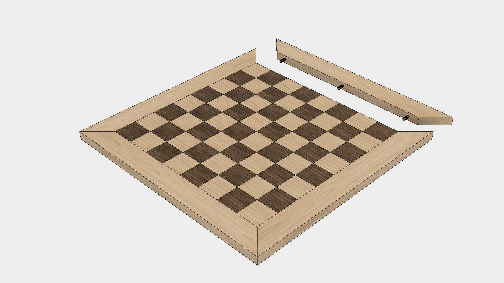 How to Make a Chess Board - Step 7