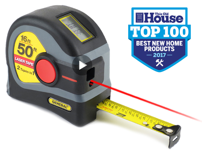LTM1 Laser Tape Measure on The Today Show! - INGENUITY AT WORK