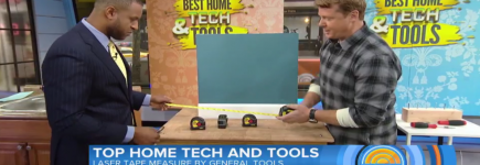 LTM1 Laser Tape Measure on The Today Show!