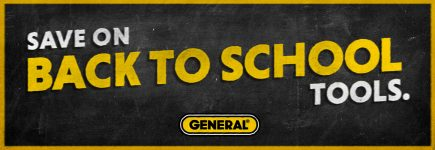 Save on Back to School Tools with General!